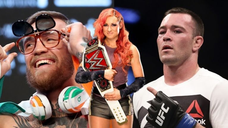 Colby Covington wants tag team match against Conor McGregor and Becky Lynch