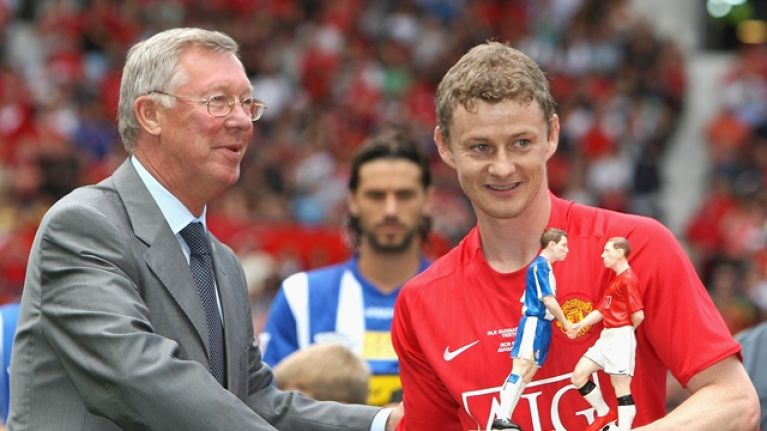 """He had that analytical mind"" - Alex Ferguson on the qualities Ole Gunnar Solskjaer has to be Man United manager"