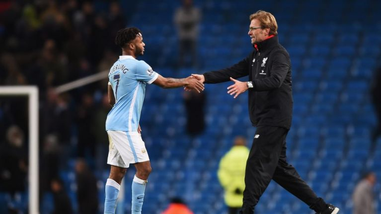 Jurgen Klopp offers support to Raheem Sterling after alleged racist abuse