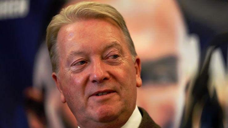 Frank Warren accuses Eddie Hearn of spouting fake news