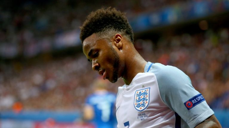 Gary Neville tells heartbreaking anecdote about Raheem Sterling from 2016