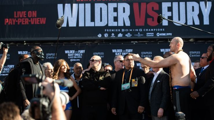 Deontay Wilder hopes to weigh as much as 245lbs for Tyson Fury rematch