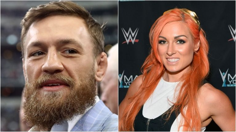 Becky Lynch suggests Conor McGregor bout that would definitely sell out Croke Park