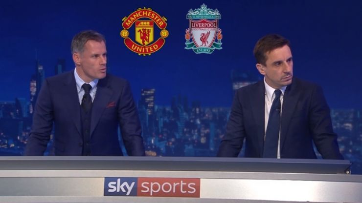 Gary Neville and Jamie Carragher pick combined Man United and Liverpool XI