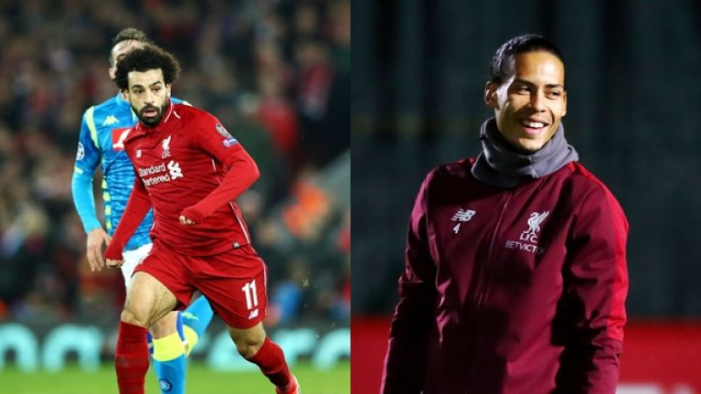 Virgil van Dijk was immense as Liverpool went through to the knockout stages of the Champions League