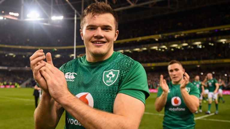 Jacob Stockdale on the moment in Italy game that set him up for memorable November
