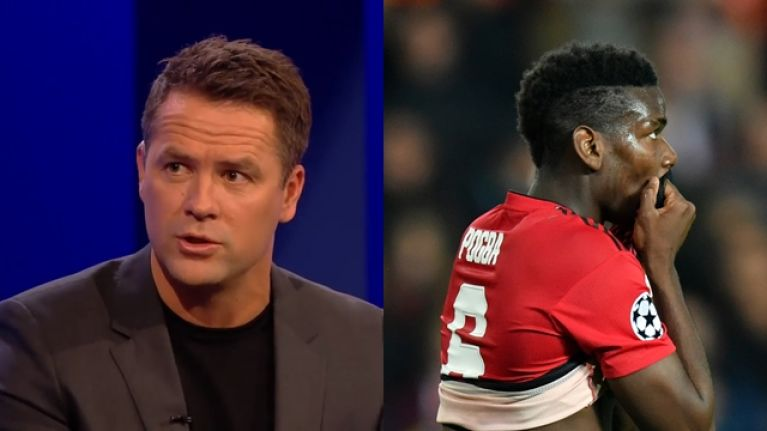 Michael Owen tells Paul Pogba to watch more videos of Paul Scholes
