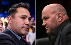 Oscar De La Hoya challenges Dana White to actual fight on Canelo undercard