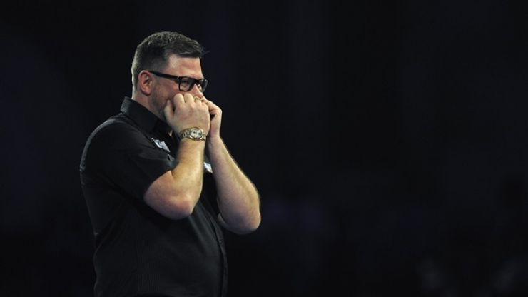 James Wade almost walked off the stage after early boos at Alexandra Palace