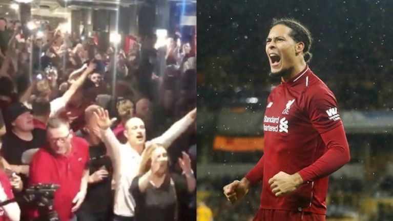 Liverpool fans sing catchy Virgil van Dijk chant and it's an instant classic