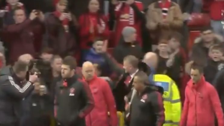 Watch: Ole Gunnar Solskjaer receives huge reception at Old Trafford