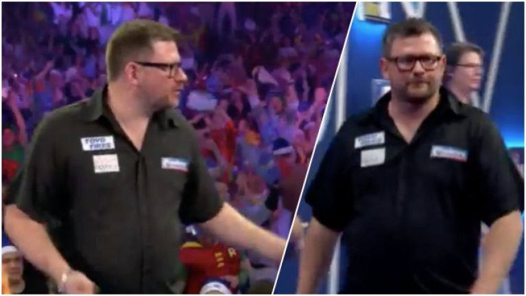 Three more counts of disrespect as James Wade crashes out