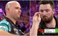 Champion Rob Cross is out of the World Darts Championship