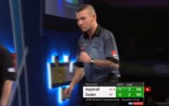 Nathan Aspinall smashes Brendan Dolan to advance to semi-final