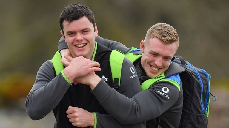 James Ryan confirms truth about famous gym session after Ireland won Grand Slam