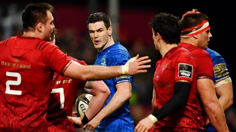 Joey Carbery justifies Munster move by getting one emphatically over Johnny Sexton