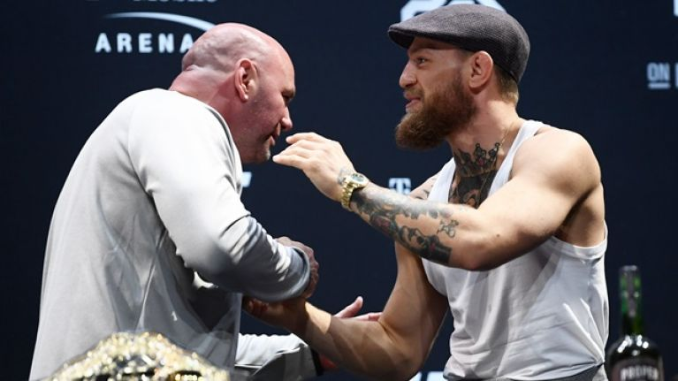 Dana White on his biggest problem with Conor McGregor