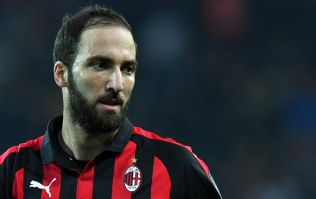 Report: Chelsea eye Gonzalo Higuain to replace Alvaro Morata