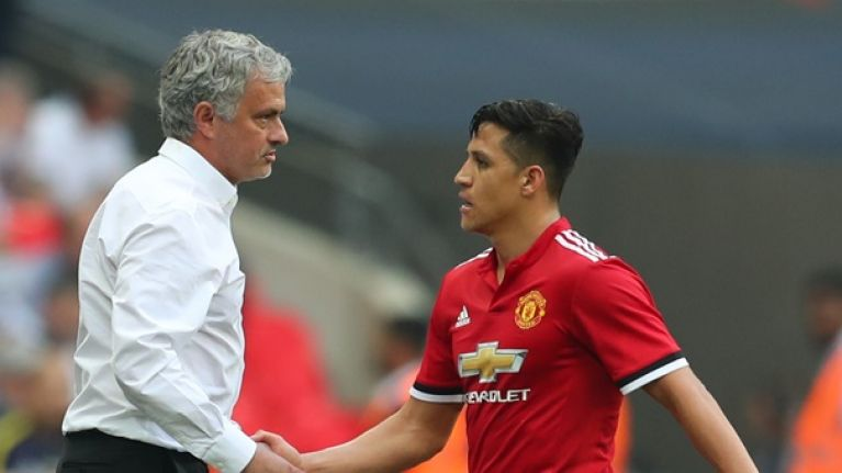 Alexis Sanchez slams report claiming he won a bet on Jose Mourinho to be sacked