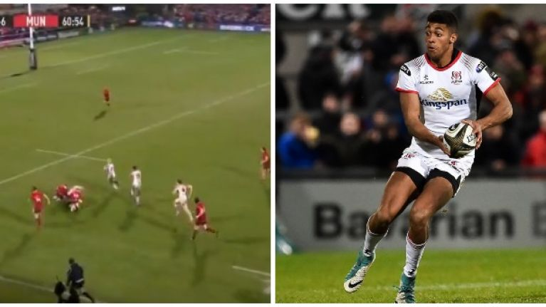 Robert Baloucoune redeems himself by finishing off exceptional Ulster try