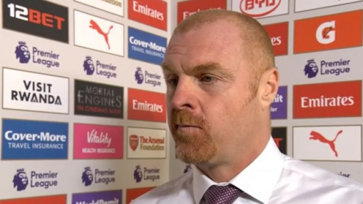 Sean Dyche fumes at diving claims and lack of penalties in Arsenal loss