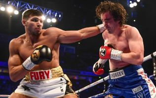 Tommy Fury makes successful debut on undercard of Warrington vs. Frampton