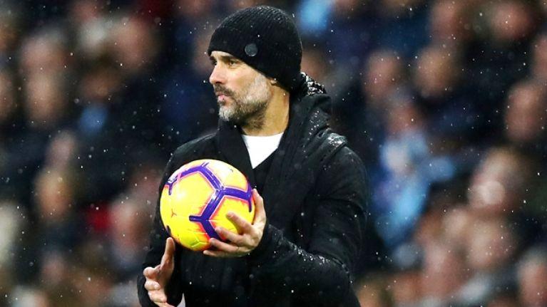 Ball boy interrupts play as Crystal Palace stun Man City 3-2