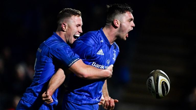 Leinster score last-gasp try to absolutely obliterate Connacht hearts