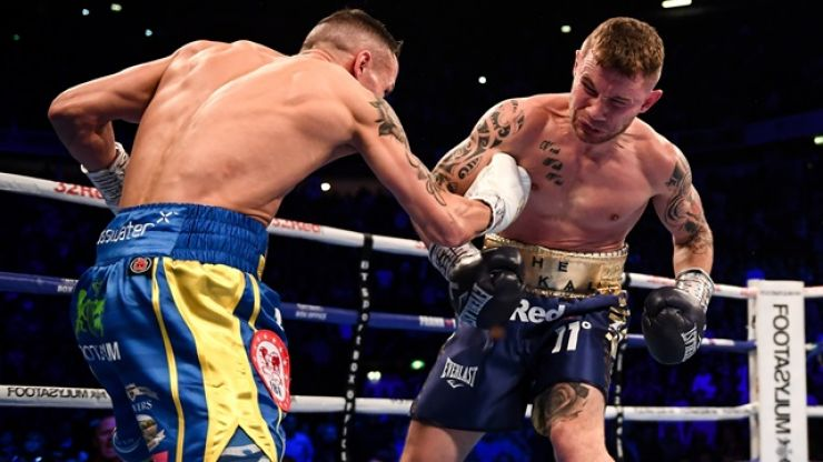 Josh Warrington and Carl Frampton gift Manchester Arena one of the fights of the year