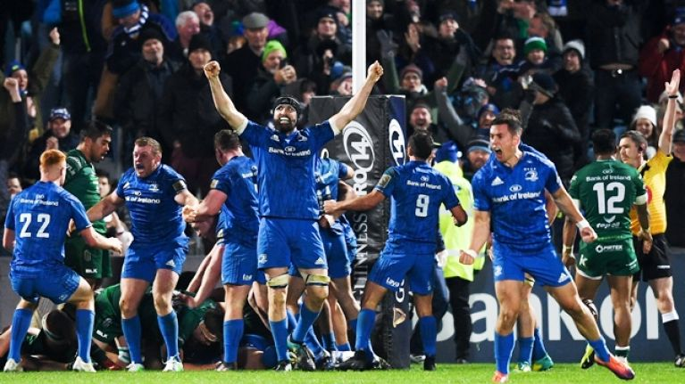 Behind the scenes with eir Sport as Leinster edge RDS thriller