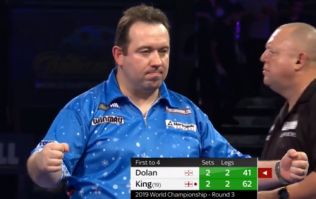 Brendan Dolan darts like a king to dance through to round four for first time ever