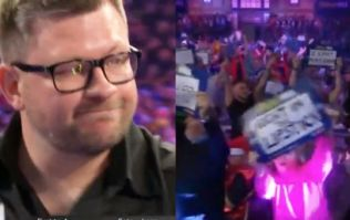 James Wade gets the reaction he probably expected on return to Ally Pally