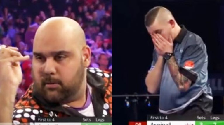 Fieriest young player in darts wins again against the odds