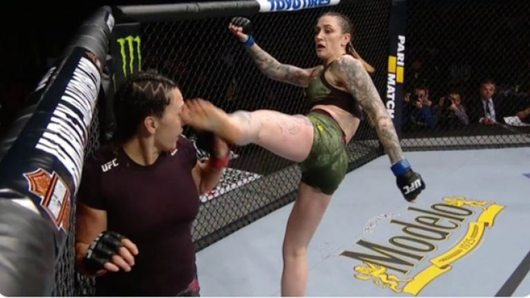 Toe to the eye results in career-best victory for Megan Anderson