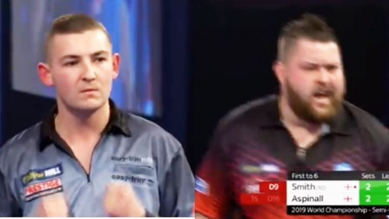 Michael Smith into the final after absolute thriller against Nathan Aspinall
