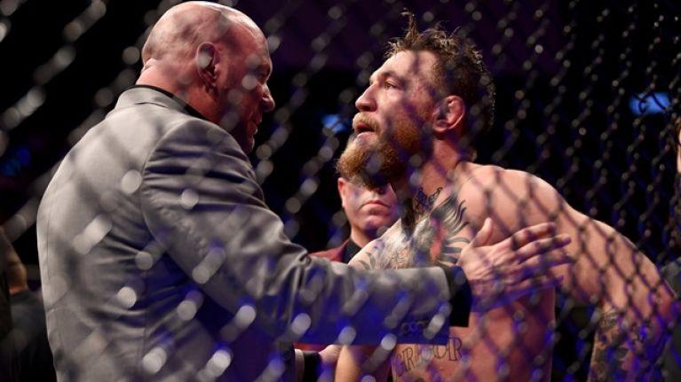 Dana White predicts when Conor McGregor will fight next