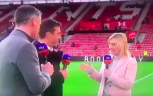 Kelly Cates responds to that awkward moment from Friday Night Football