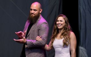 UFC vet Travis Browne punches 'fan' who attacked WWE legend Bret Hart