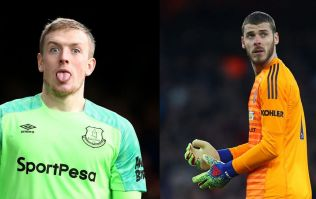 Manchester United consider replacing David De Gea with Jordan Pickford
