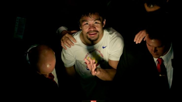Manny Pacquiao agrees mystery deal with MMA promotion that paid Mayweather $9 million