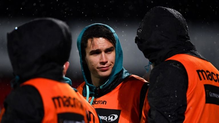 Joey Carbery in doubt ahead of Champions Cup trip