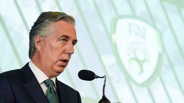 FAI confirm John Delaney will appear before the Oireachtas Committee on Wednesday