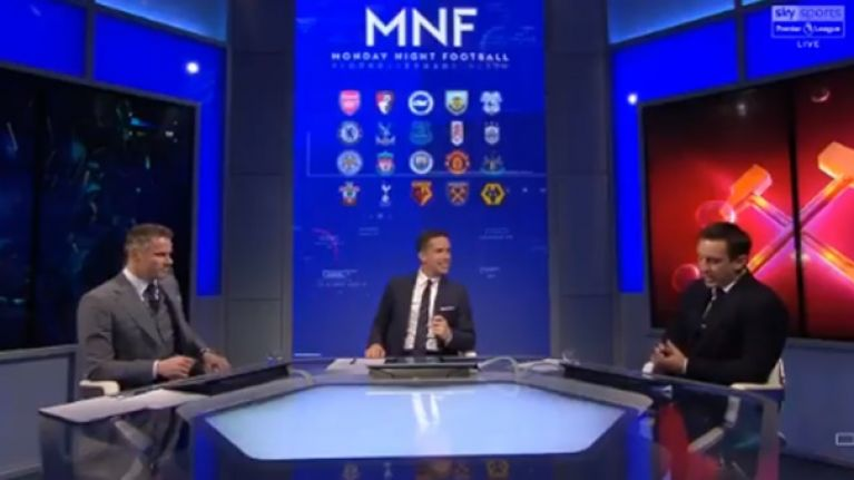 Neville and Carragher make their picks for the Premier League's top four