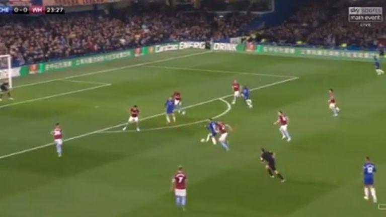 Eden Hazard dances his way through West Ham United defence