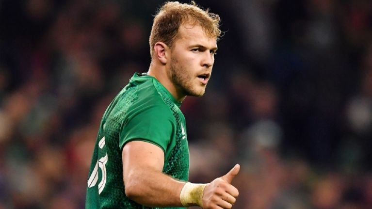 Will Addison the latest Ireland star to have season ended