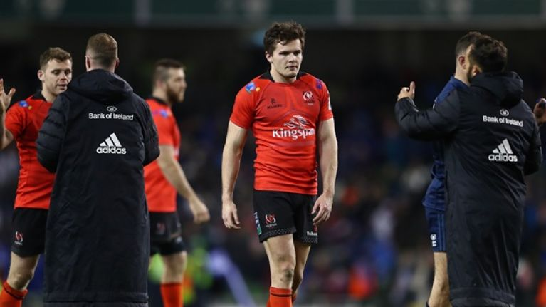 Andrew Trimble defends Jacob Stockdale after blown try against Leinster