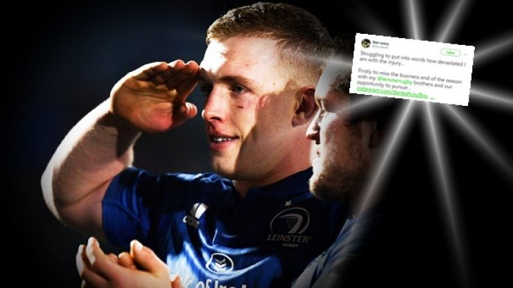Dan Leavy already thinking about the way back after worst blow of his career