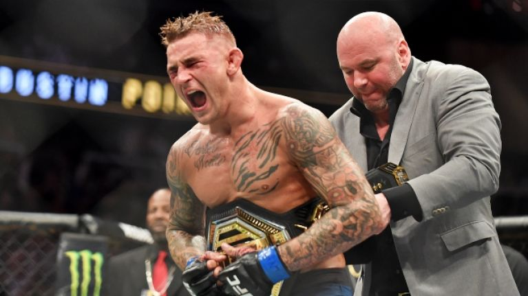 UFC 236 main event has everyone raving, as Poirier outguns Holloway