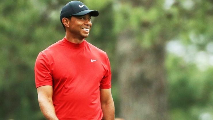 Tiger Woods completes one of greatest ever sporting comebacks winning US Masters 14 years on