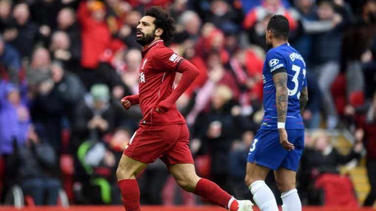 Mohamed Salah explains motivation behind celebration against Chelsea